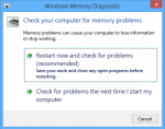 Check your Memory and Hardware