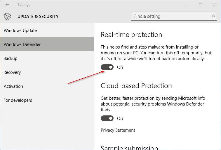 Turn-on-or-off-Windows-Defender-Real-time-protection