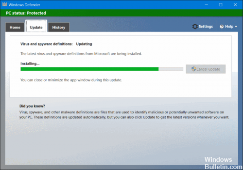 Update-Windows-Defender