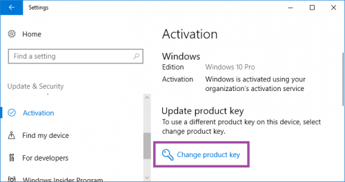 Verify The Windows 10 Key