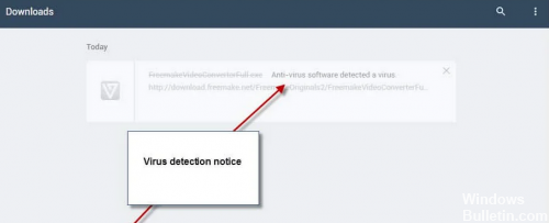How to Repair Virus Scan Failed or Virus Detected Error