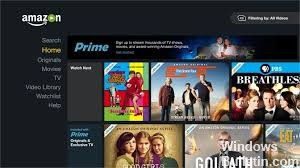 Install the Amazon Prime Video App in Windows 10 - Windows