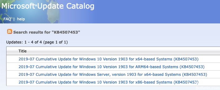 How to Fix Issues with KB4507453 Cumulative Update - Windows