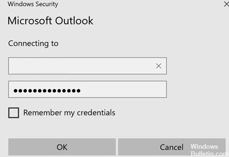 Fixed: Outlook keeps asking for your password in Windows 10