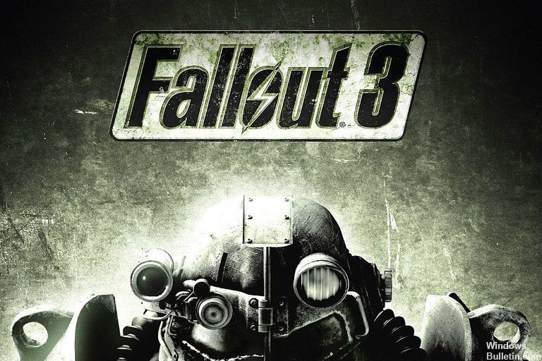 What causes the Fallout error: Cannot find ordinal 43 or not found